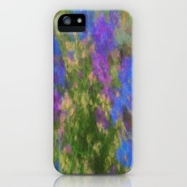 Larkspur and Poppys iPhone Case