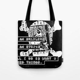 want & need Tote Bag