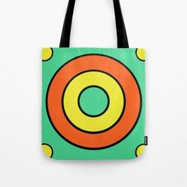 mint target Tote Bag