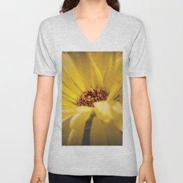 Yellow Calendula Unisex V-Neck