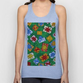 Christmas gifts pattern Unisex Tank Top