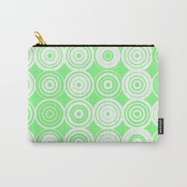 Green circles Carry-All Pouch