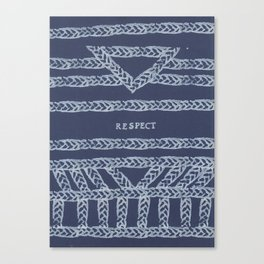 RESPECT ELM THE PERSON Canvas Print