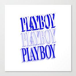 Play boy Canvas Print