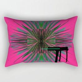 Dots of Thorns - minimal exercise. Rectangular Pillow