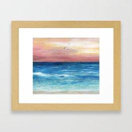 Sea View 269 Framed Art Print