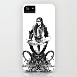 Pomba Gira & Eshu iPhone Case
