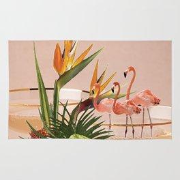 Flamingo Cocktail Rug