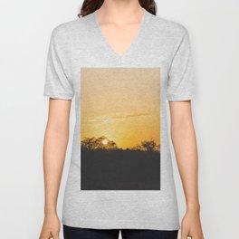 Summer sunrise Unisex V-Neck
