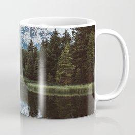 Grand Tetons Relfection at Sunrise Coffee Mug