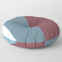 Parable to Behr Blueprint Color of the Year and Accent Colors Vertical Stripes 3 Floor Pillow
