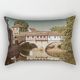 Romantic Nuremberg Rectangular Pillow