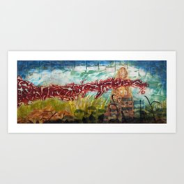 Rise Against the Wind Art Print