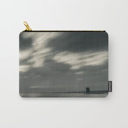 Lisbon in Black and White Carry-All Pouch