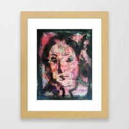 I AM SICK OF THIS VENUSIAN FACE CRAP BUT I KEEP DOING IT  Framed Art Print