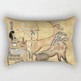 Nebkheperure Rectangular Pillow