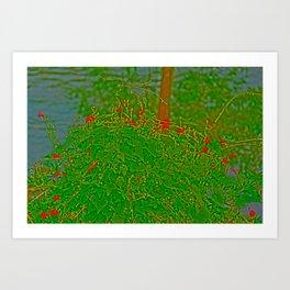Abstract Morning Art Print