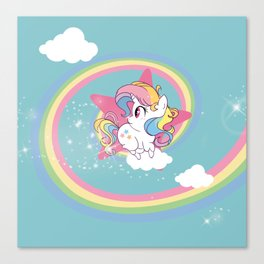 Unicorno Canvas Print