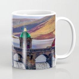 Medieval Dam of the Elan Valley of Wales Coffee Mug