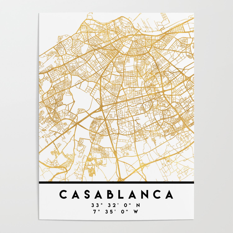CASABLANCA MOROCCO CITY STREET MAP ART Poster by deificusart on johannesburg map, key largo map, algeria map, timbuktu map, potsdam map, dubai map, morocco map, tripoli map, western sahara map, marrakesh map, marrakech map, africa map, algiers map, dar es salaam map, cape town map, damascus map, accra map, salerno map, oran map, lima map,