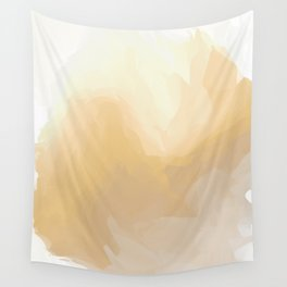 Golden Waves of Sunshine Wall Tapestry