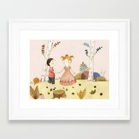easter Framed Art Prints featuring Easter by Judith Loske