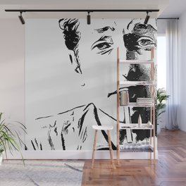 Engraving Bob Wall Mural