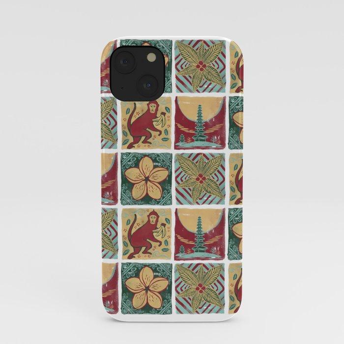 Bali Tile Arts iPhone Case