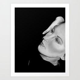 Simply Jane Art Print