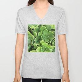 Succulents #1 Unisex V-Neck