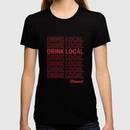 Drink Local (Bodega Bag Repeat) T-shirt