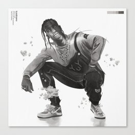 La Flame in Sicko Mode Canvas Print