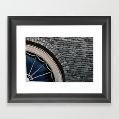 Shapes and Contours Framed Art Print