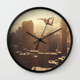 Spider-man New York #2 Wall Clock