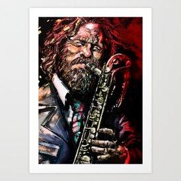 Gerry Mulligan Art Print