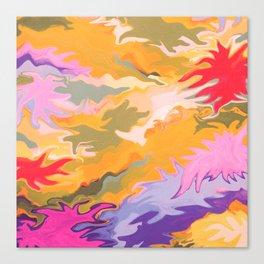 Desert Camo Canvas Print