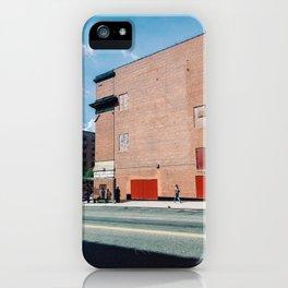 Walking The Spanish Harlem New York iPhone Case