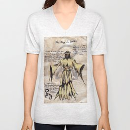 Lovecraft Series:  The King in Yellow Unisex V-Neck