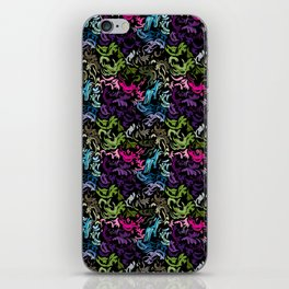 pattern_colors iPhone Skin