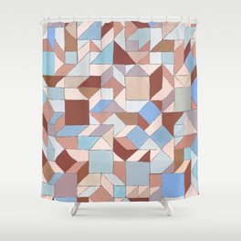 Steps of Siena Shower Curtain
