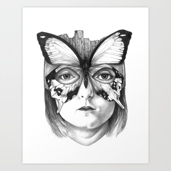 SUPERBG! Art Print