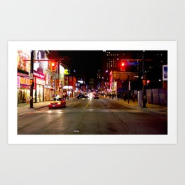 North Bound Yonge Street Art Print