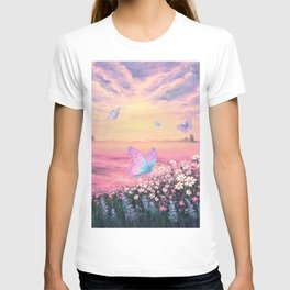 Somewhere Between Earth and Heaven T-shirt