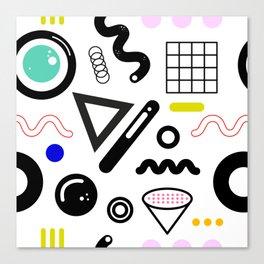 San Junipero pattern Canvas Print