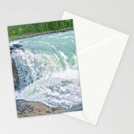 Athabasca Falls - Canadian Rocky Mountains Stationery Cards
