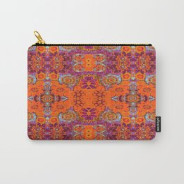 Boho Hippie Garden Pattern Carry-All Pouch