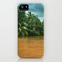 Mekong rain iPhone Case
