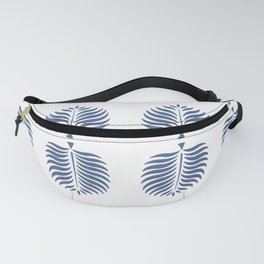 TROPICAL PALMS . BLUE Fanny Pack