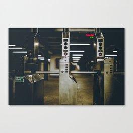 Subway Story Canvas Print