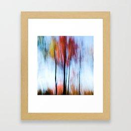 Fall Tree, I-80 PA Framed Art Print